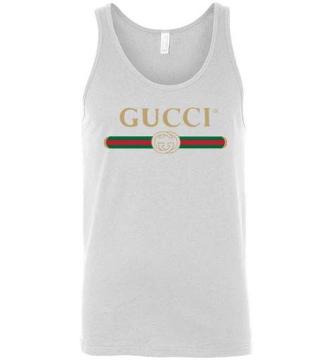 29af5468d86 Gucci Logo 2019 Premium Edition Canvas Unisex Tank - in 2018