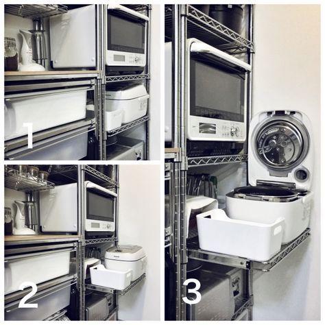 キッチン ドウシシャ メタルラック 無印良品 スチールラック メタル