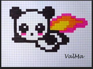 Les Créas De Valma Dessin Pixel Dessin Sur Petit Carreaux