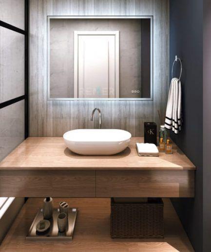 Led Bathroom Mirror With Bluetooth Speaker