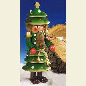Nutcracker - Christmas Tree by Steinbach Volkskunst