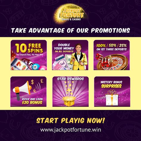 Take A Look At Our Promotions Register And Get 10 Free Spins With