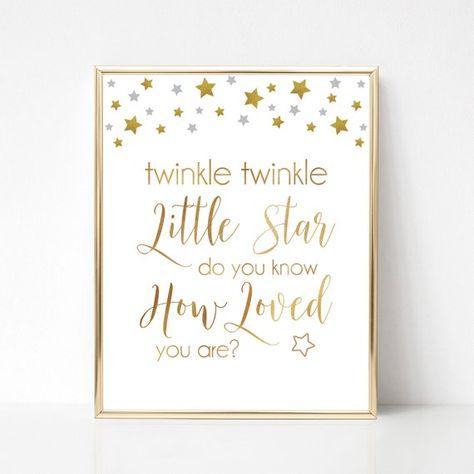 List of Pinterest twinkle twinkle little star nursery wall art