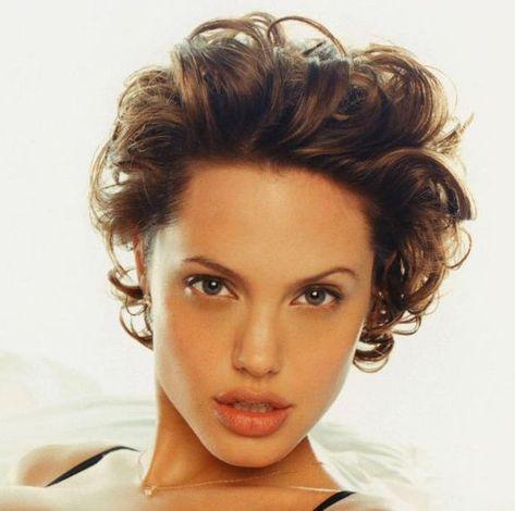 Angelina jolie short curly hairstyle casual everyday angelina jolie short curly hairstyle casual everyday careforhair hair beauty pinterest angelina jolie and curly hairstyles urmus Image collections