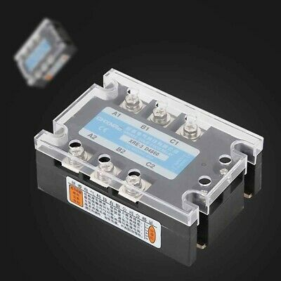 Ad Ebay 3 Phase 60a Three Phase Ssr 3 32v Dc Control 24 480v Ac Solid State Relay Module Relay Electrical Equipment Ebay