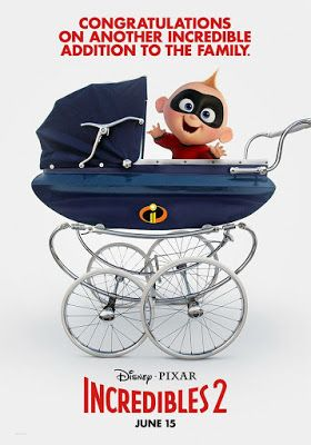 Disney Fan Collector The Incredibles Incredibles 2 Poster Full Movies