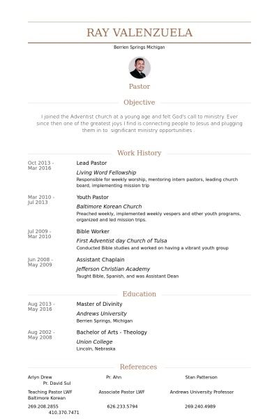 Ministry Resume Template Template Ideas Resume Template Resume Downloadable Resume Template
