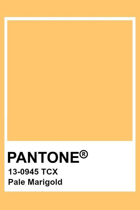 Pantone Blasse Ringelblume  #blasse #pantone #ringelblume