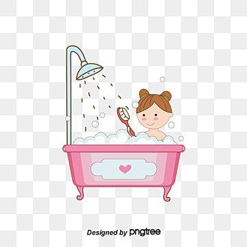 อาบน ำเด กเวกเตอร อาบน ำ เป ดน อย เด กชายศ ลปะภาพ Png และ เวกเตอร สำหร บการดาวน โหลดฟร Em 2021 Desenhos Desenhos Animados Rapazes