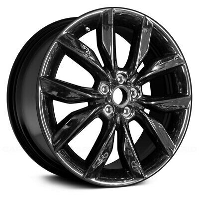 Details About For Ford Escape 17 10 Spoke Black 19x8 Alloy Factory Wheel Remanufactured In 2020 Wheel Bolt Pattern Ebay