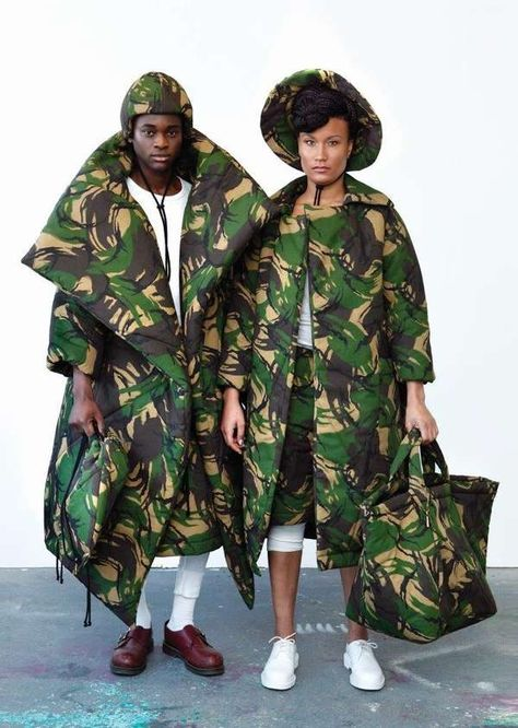 The James Hock Autumn/Winter 2013/2014 Collection is Bundled Up #fall #fashion trendhunter.com