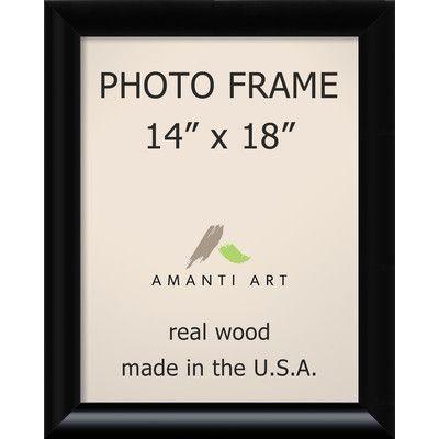 Amanti Art Steinway Black Picture Frame Size: 14\