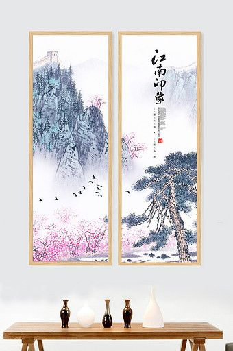 Jiangnan Impression New Chinese Landscape Painting Chinese Landscape Painting Chinese Landscape Landscape Paintings