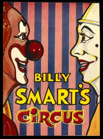 Poster For Billy Smart S Circus Circus Circus Poster Send In The Clowns