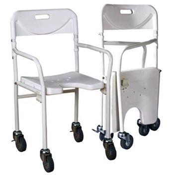silla ducha personas mayores plegable