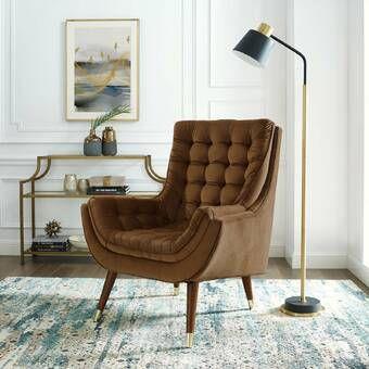 Berlinville Armchair In 2021 Velvet Lounge Chair Velvet Lounge Tufted Accent Chair