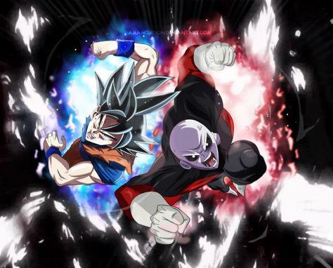 Poster 42x24 cm Dragon Ball Super Goku Black Super Saiyan God Blue Rose Decor 01
