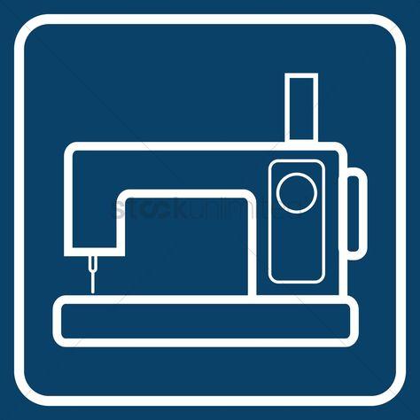 Sewing machine vector illustration , #ad, #machine, #Sewing, #illustration, #vector #affiliate