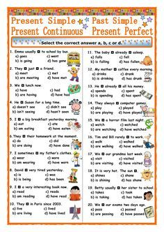 Verb tenses interactive and downloadable worksheet. You can ...
