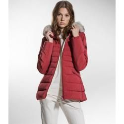 Light quilted jackets- Leichte Steppjacken Down jacket in slim fit with fur collar PeutereyPeuterey -