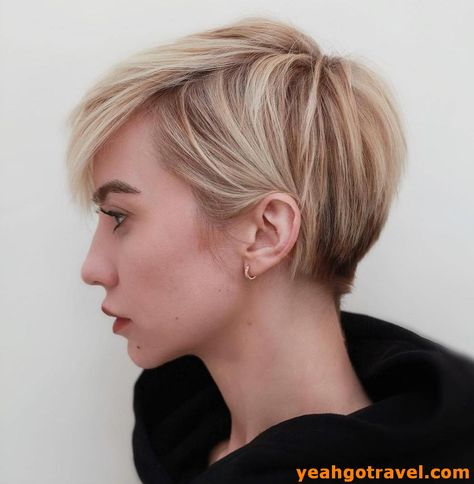 39 Modern Hair Color For Pixie And Bob Short Haircuts - Yeahgotravel.com