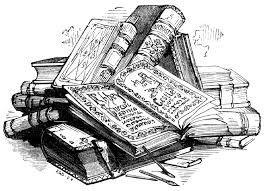 Bücherstapel gezeichnet  Bildergebnis für zeichnung bleistift fantasy | Brainstorm | Pinterest