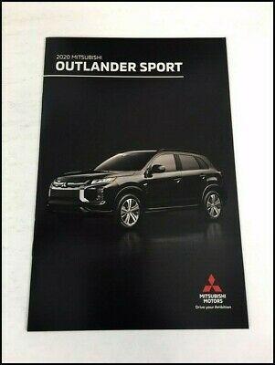 2020 Mitsubishi Outlander Sport Original Car Sales Brochure Catalog In 2020 Mitsubishi Outlander Sport Mitsubishi Outlander Outlander Sport