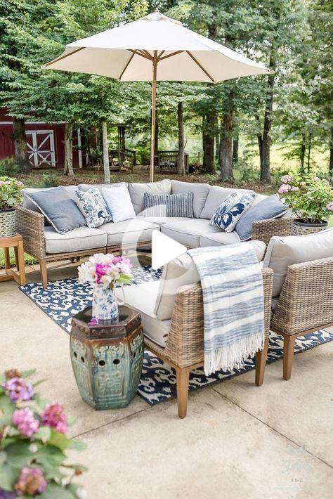Mon Prix Abordable Meubles De Patio Et Decoration Exterieure Conseils In 2020 Backyard Furniture Teak Patio Furniture Outdoor Patio Decor