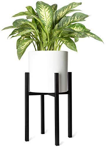 Mkono Plant Stand Mid Century Modern Tall Flower Pot Stan Https