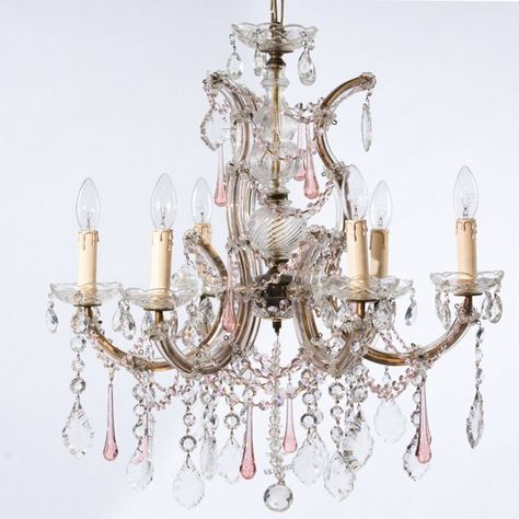 Marie Therese Chandelier From Vintage Wonderland Chandeliers Sold Products Lighting Pinterest Lights And Decorating
