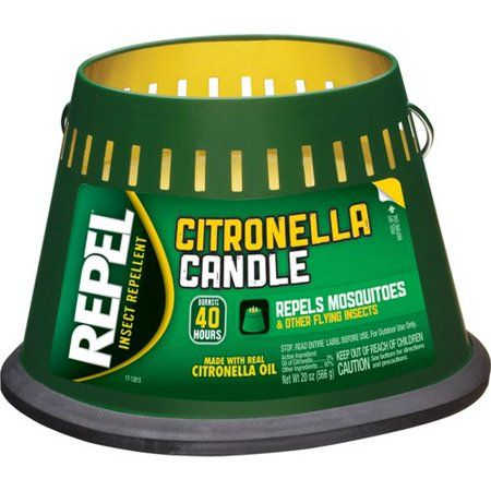 Household Essentials Insect Repellent Candles Citronella