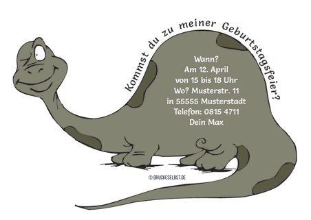 Einladungskarte Dino Kindergeburtstagseinladungen Einladung Kindergeburtstag Basteln Dino Einladung Kindergeburtstag Basteln