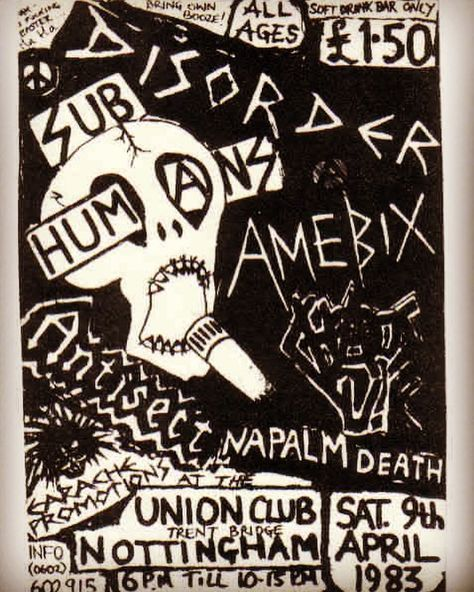 Good Times #80shardcore #crustpunk #anarchopunk #amebix #subhumans #antisect #chaosuk #disorder