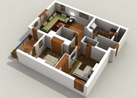 New Design 3d House Plans Online 8 Essence In 2021 Free House Plans Modern House Plans Cool House Designs