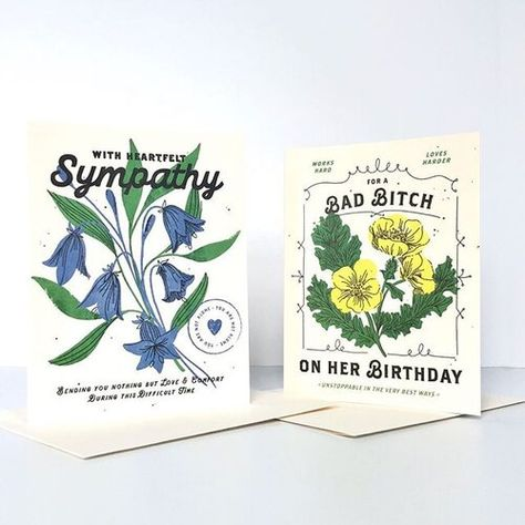 In honor of Earth Day this month, we chose these seed-packet-inspired greetings gorgeously illustrated by @bydylanm (@redcapcards). Now go spread some seeds of cheer! #sympathycard #birthdaycard #seedpackets #earthday #greetingcards #stationery #subscription #stationerysubscription #subscriptionbox #subscriptionaddiction #snailmail #snailmaillove #snailmailrevolution #stationeryaddict #stationerylove #paperlove #sendmoremail #snailboxcards