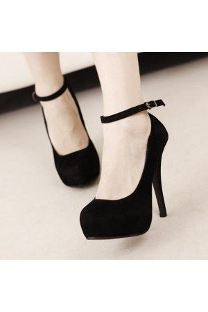 Heel Height: cm Platform Height: - cm Color: Black,red Size: 43 Size Note: We send CN size, if your foot is a little wide and fat, we suggest you choose 1 size larger. Size Guide: Euro/CN 34 = US 3 = (Foot Euro/CN 35 = US 4 = (Foot Euro/CN
