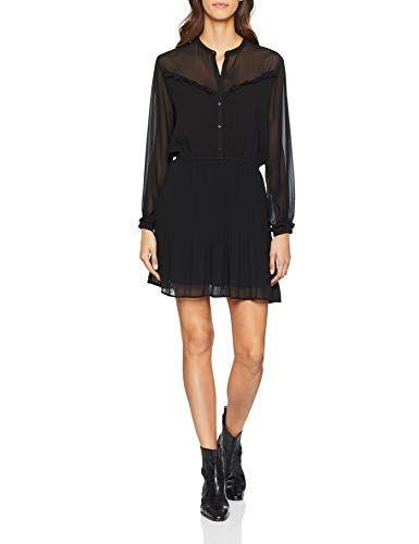 low priced 578fa b1874 Pepe Jeans Damen Kleid Luppe (Schwarz 999) Small | Kleider ...