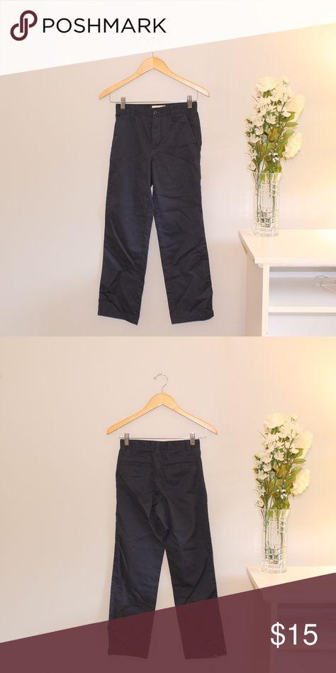 Old Navy Droit SZ 12 Slim Girls size 12 slim. Navy blue Droit style pants. Straight leg. 100% Cotton Old Navy Bottoms Casual