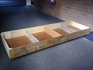 Under Bed Storage Unit In 2020 Diy Storage Bed Under Bed