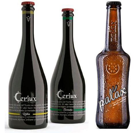 Cerveza Ciriux Y Palax Dos Cervezas Con Esencia De Vino Cerveza