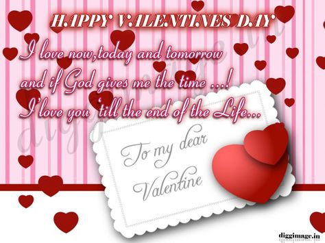 Valentines Quotes For My Wife. To My Dear Valentine Pls Accept My ...
