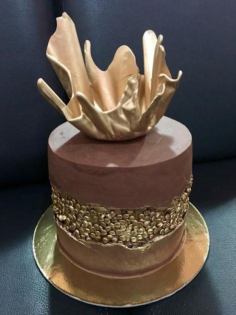 Ganache Fault Line Cake by N&N Cakes (Rodette De La O)
