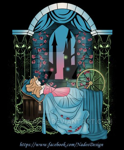 The Sleeping Rose by Anlarel on DeviantArt