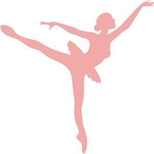 Silhouette Design Store - View Design #130247: sweet balerina