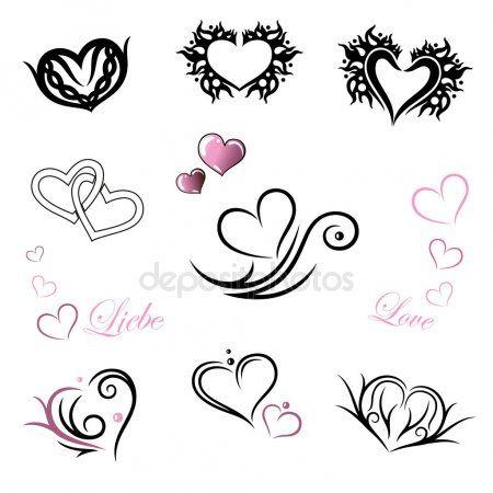 Tattoo Herz Buchstabe Smalltattoo Heart Letter