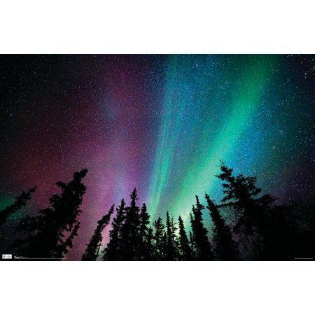 Aurora Borealis Atmosphere Picture Print Art A3 Poster The Northern Lights