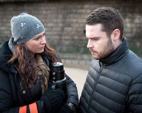 Aaron Livesy will confide in his mum Chas Dingle about his sexual