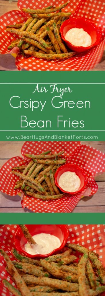Easy to make and deliciously crispy, these Air Fryer Green Bean Fries are a perfect snack or side! Easy to make and deliciously crispy, these Air Fryer Green Bean Fries are a perfect snack or side! Air Fryer Recipes Potatoes, Air Fryer Recipes Snacks, Air Fryer Recipes Breakfast, Air Frier Recipes, Air Fryer Dinner Recipes, Breakfast Meals, Crispy Green Beans, Air Fried Green Beans, Instant Pot