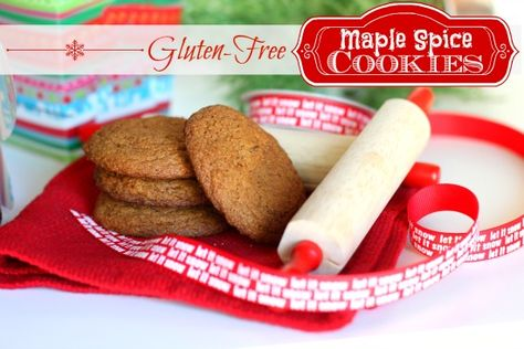 Gluten-Free Maple Spice Cookies: Perfect for Holiday Baking