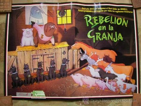 Viaje Al Desbordante Barroco George Orwell Rebelión En La Granja Y El Concepto De Gran Hermano En 1984 Rebelion En La Granja Rebelion Granja